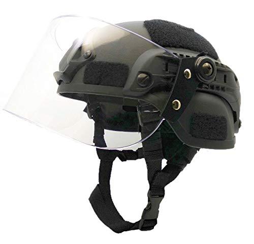 Airsoft MICH 2000 ACH Taktischer Helm mit klarem Visier...