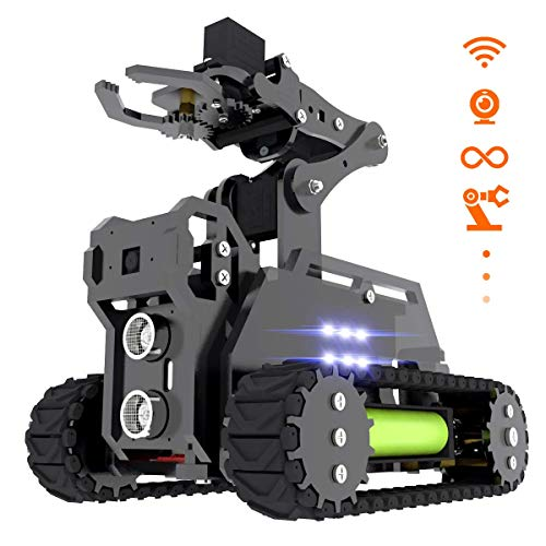 Adeept RaspTank WiFi Wireless Smart Robot Car Kit für Raspberry...