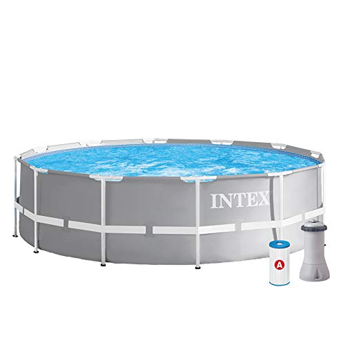 Intex Schwimmbecken Pool Ø 366 x 99 cm Frame Pool Set Prism...