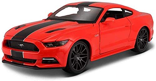 YLJJ Modellautos Modellauto Ford Mustang GT 1:24 Simulation Gusslegierung Spielzeug Geschenke...