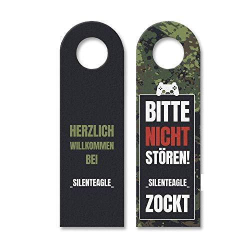 trendaffe - Nicht stören oder Willkommen Türhänger, Türschild...