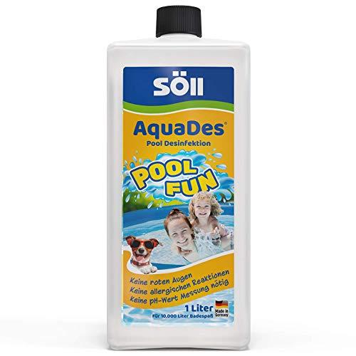 Söll 31430 AquaDes Pool-Desinfektion flüssig 1 l - wirksame...