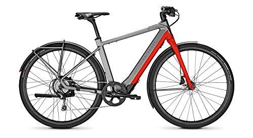 Kalkhoff Berleen 5.G Advance Groove Elektro Fahrrad 2020 grau/rot...