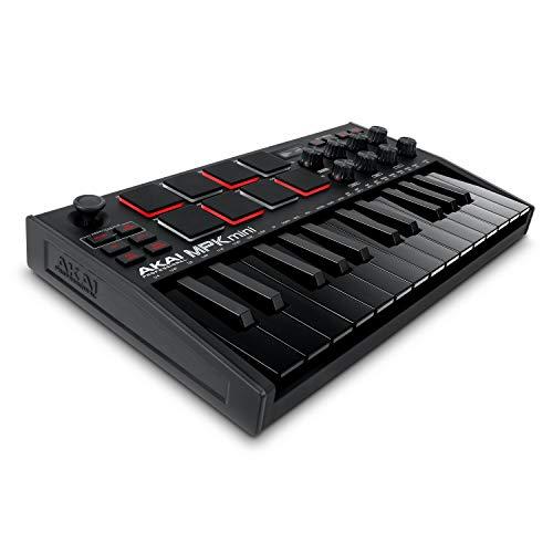 AKAI Professional MPK Mini MK3 Black – 25-Tasten USB MIDI...