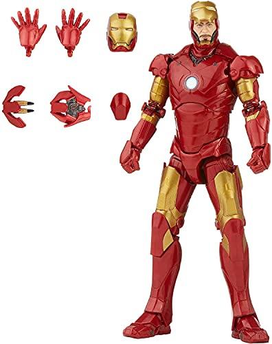 Hasbro Marvel Legends Series 15 cm große Iron Man Mark 3...