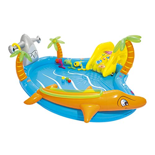 Bestway 53067 Sea Life Play Center Planschbecken 280x257x87cm,...