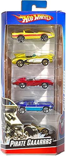 Hot Wheels 01806 5er Pack 1:64 Die-Cast Fahrzeuge Geschenkset, je...