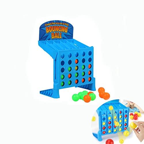 NA Connect 4 Shots Spiel, Bounce and Link Ballspiel, klassisches...