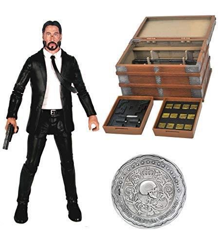 Diamond Select John Wick DLX Action Figur Box Set