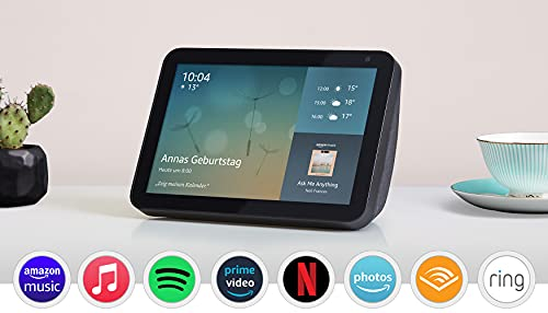 Echo Show 8 (1. Gen, 2019) – Smart Display mit Alexa – Durch...