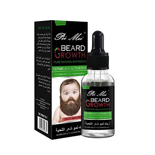 Beard Oil, Bartwuchsöl, Beard Growth Oil, Bartöl Conditioner...