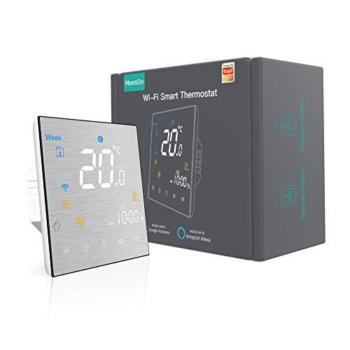 MoesGo Smartes WLAN fähiges Thermostat und programmierbare...