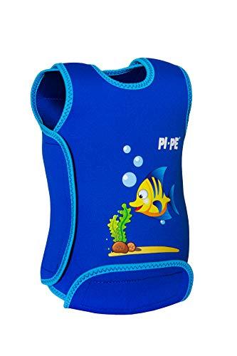 PI-PE Baby Warmer Neopren Schwimmanzug Blue M (6-12 Monate)