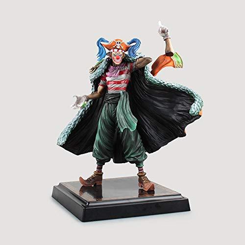 One Piece Clown Buggy Frucht Splitter Zeichentrickfigur Modell...