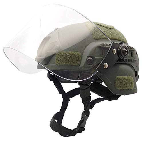 WLXW Airsoft Paintball Taktischer Helm, MICH2000 Army Combat Fast...
