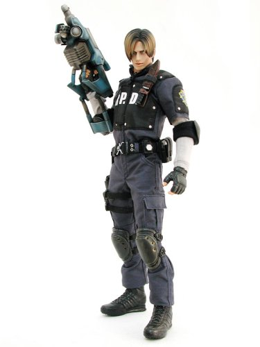 Hot Toys Resident Evil 4 Deluxe 12 inch Action Figure Leon S. Kennedy [R.P.D. Uniform]