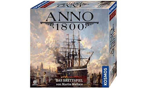 KOSMOS 680428 Anno 1800, Das Brettspiel zum beliebten PC-Spiel,...