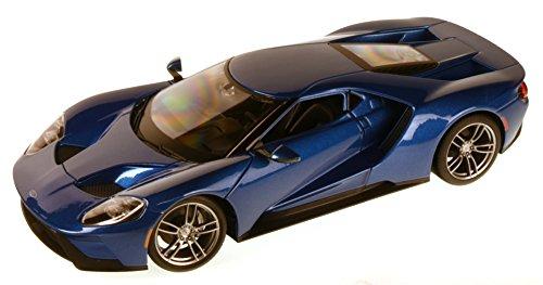 Ford GT, metallic-blau, 2017, Modellauto, Fertigmodell, Maisto...