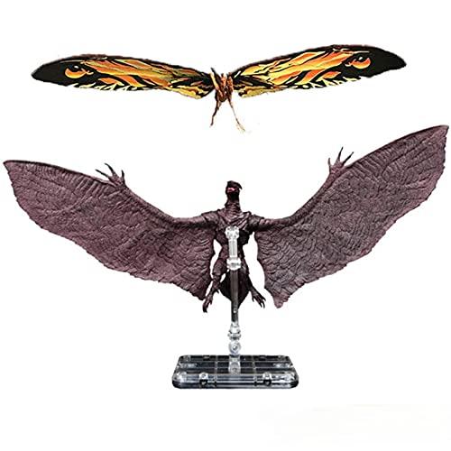 18Cm Anime Figur Godzilla King of The Monsters Mothra Rodan Mit...