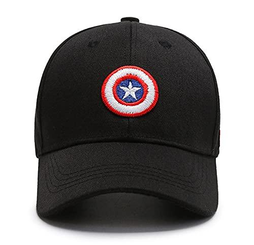 Tables Captain America Schild Embroidery Cotton Baseball Cap,...