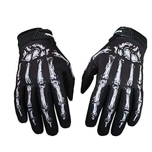 TOSSPER 1 Stück Motorradhandschuhe Radfahren Punk Handschuhe...