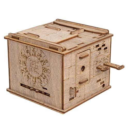 ESC WELT Space Box - Holzpuzzle Box Spiele für Erwachsene und...