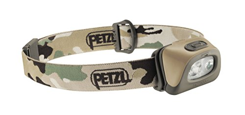 Petzl Stirnlampe Tactikka Camo, Camouflage, One Size