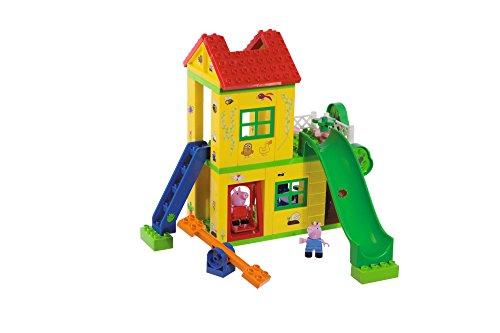 BIG Spielwarenfabrik 800057076 BIG-Bloxx Peppa Pig Play House - Baumhaus,...