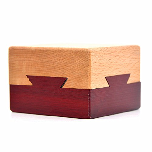 Hölzerne geheime Öffnung Rätsel Box geheimnisvolle Box...