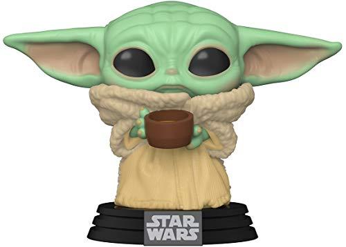 Funko 49933 POP Star Wars: Mandalorian-The Child w/Cup...