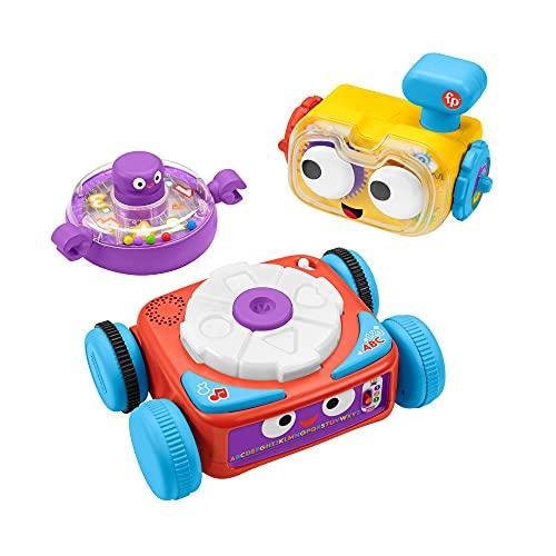 Fisher-Price HCK39 - Linus der 4-in-1 Lernroboter für Babys, ab...