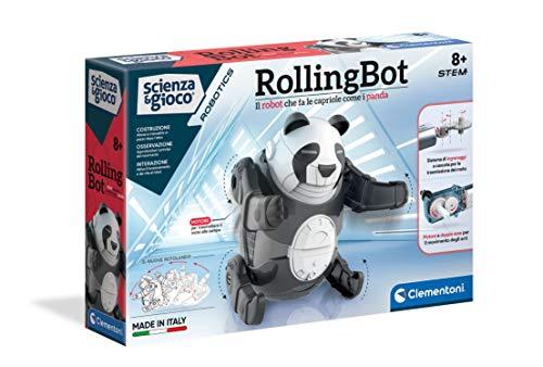 Clementoni - Wissenschaft und Spiel Robotics-RollingBot, Roboter...