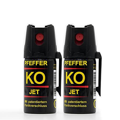 Pfefferspray KO Jet | Fog Verteidigungsspray Abwehrspray 40ml |...