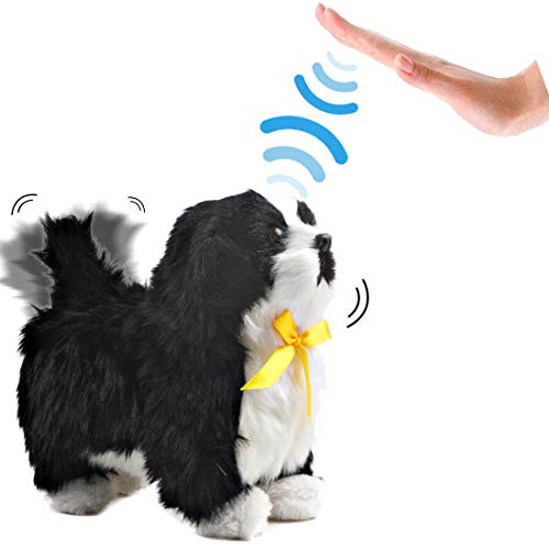 deAO Interactive Electronic Haustier Dog Toy mit Bellen, Gehen,...