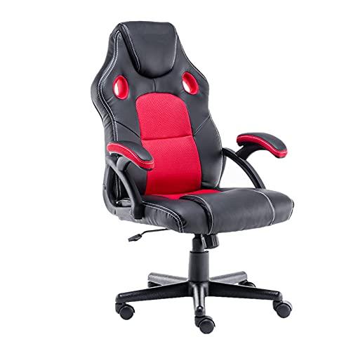 Gaming Stuhl Drehbarer und Ergonomischer Gaming Stuhl mit Sessel...