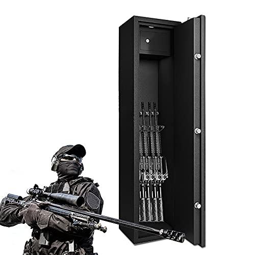 BLLJQ Munitionsschrank Mit Innenfach Für 5 Langwaffen,...