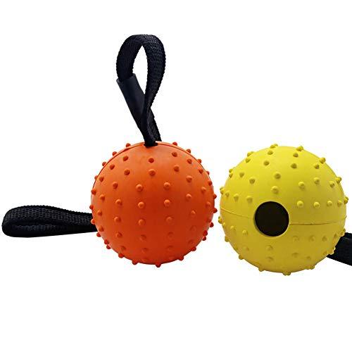 Vivifying Hundeball auf einem Seil, 2 Stück Interaktiver...