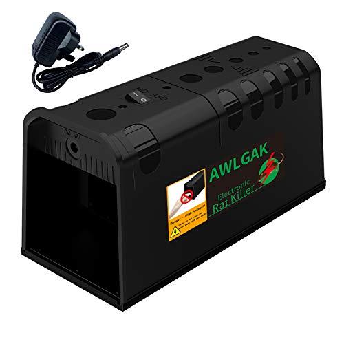 AWLGAK Rattenfalle Elektronische Mäusefalle für 100% Instant &...