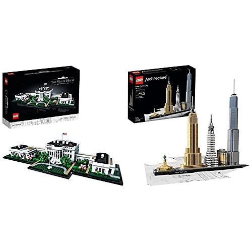 LEGO 21054 Architecture Das Weiße Haus Bauset für Erwachsene,...