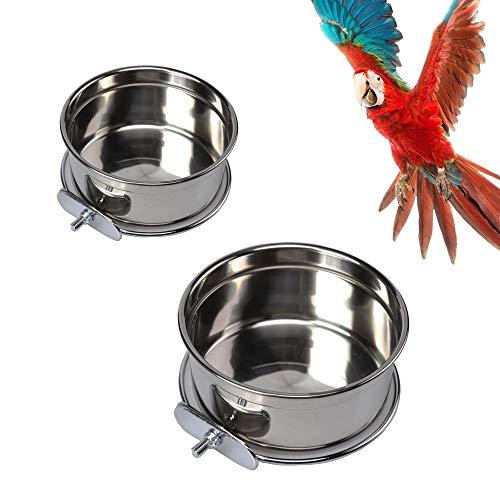 Vogel Fütterung Näpfe 2 Stück Vogelfutterschalen Tassen...