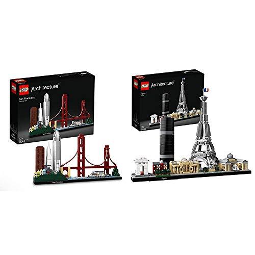 LEGO 21043 Architecture San Francisco Skyline-Kollektion & 21044...