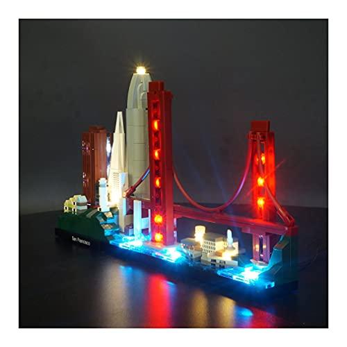 Led Beleuchtungsset für Lego Architecture San Francisco...
