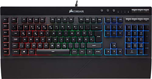 Corsair K55 Gaming Tastatur (Multi-Color RGB Beleuchtung, QWERTZ)...