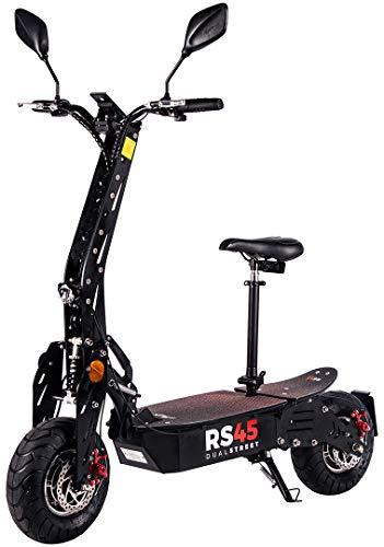 eFlux RS45 Pro Elektroroller Scooter - 2000 Watt Hubmotoren -...