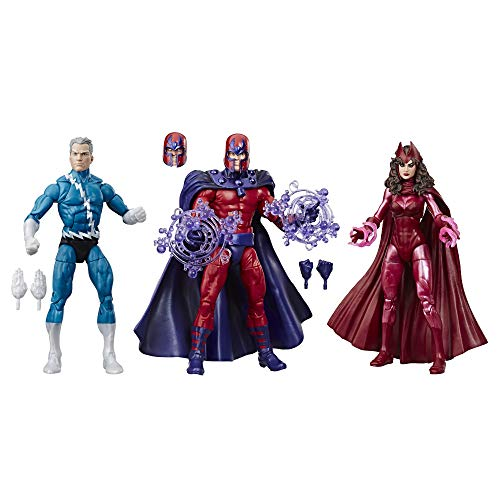 Marvel Legends Series Exclusive 6' Family Matters 3 Pack with Magneto, Quicksilver, & Scarlet...