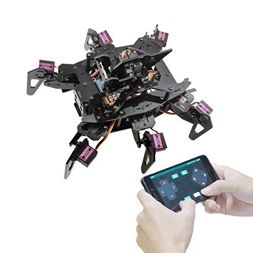 Adeept RaspClaws Hexapod Spider Robot Kit für Raspberry Pi 4/3...