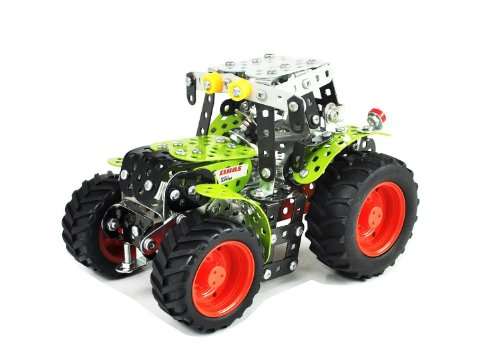 Tronico 10010 - Metallbaukasten Traktor Claas Arion 430, Maßstab...