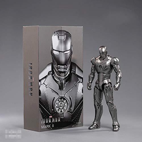 yqs Actionfiguren 18cm Endspiel Iron Man Mark 2 Actionfigur Iron...