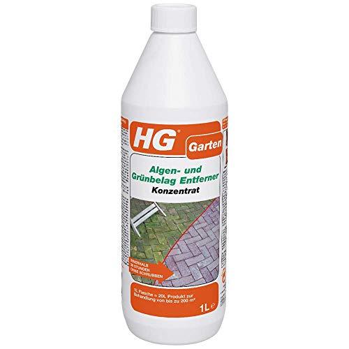 HG Algen- und Grünbelag Entferner Konzentrat 1L – ist ein...