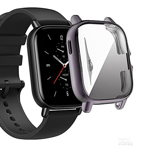 Kompatibel für Amazfit GTS 2 Smartwatch Case Überzogene...